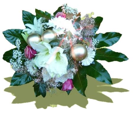 Weisse Weihnachten Blumenstrausse Haedi Flor Meisterbetrieb Onlineshop